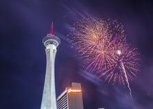 Las Vegas il quarto luglio Immagini Stock Libere da Diritti