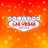 Las Vegas illustration Royalty Free Stock Images