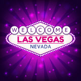 Las Vegas illustration Stock Images