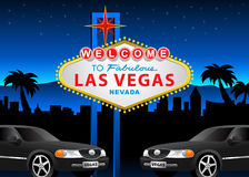 Las Vegas!. Illustration of Las Vegas. EPS 10 file and Hi-Res jpg included Royalty Free Stock Photos