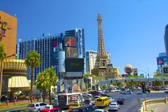 Las Vegas im Stadtzentrum gelegen Stockfoto