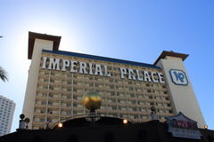 Las Vegas - Imperial Palace Hotel and Casino Royalty Free Stock Photography