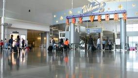 Las Vegas, internationaler Flughafen McCarran, Passagiere, stock video footage