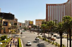 Las Vegas Intersection Stock Image