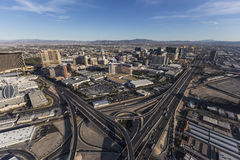 Las Vegas Interstate 15 royalty free stock photography