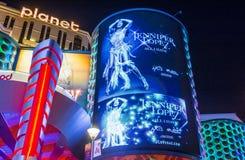 Las Vegas, Jennifer Lopez Immagine Stock