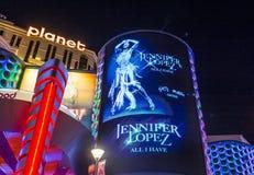 Las Vegas, Jennifer Lopez Zdjęcia Stock