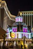 Las Vegas kasino Royale Arkivbild