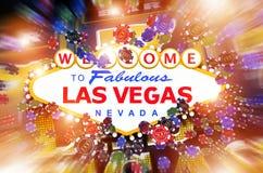 Las Vegas kasyna Uprawiać hazard ilustracja wektor