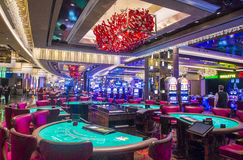 Las Vegas kosmopolit Royaltyfria Foton