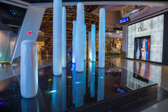 Las Vegas kristallgalleria Arkivfoton