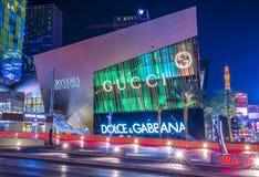 Las Vegas kristallgalleria Fotografering för Bildbyråer