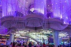 Las Vegas, Kroonluchterbar Stock Foto