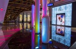 Las Vegas kryształów centrum handlowe Obrazy Stock