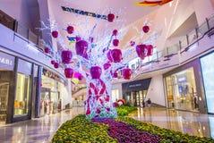 Las Vegas kryształów centrum handlowe Zdjęcie Stock