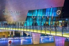 Las Vegas kryształów centrum handlowe Fotografia Royalty Free