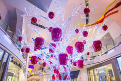 Las Vegas kryształów centrum handlowe Zdjęcia Royalty Free