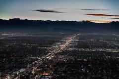 Las Vegas, la estratosfera fotografía de archivo libre de regalías