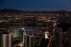Las Vegas, la estratosfera en las altas alturas fotografía de archivo libre de regalías