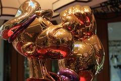 LAS VEGAS - La exhibición de Jeff Koons Popeye Sculpture en Las Vegas Imagen de archivo
