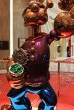 LAS VEGAS - La exhibición de Jeff Koons Popeye Sculpture en Las Vegas Fotografía de archivo libre de regalías