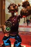 LAS VEGAS - La exhibición de Jeff Koons Popeye Sculpture en Las Vegas Foto de archivo