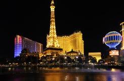 Las Vegas la nuit Image libre de droits