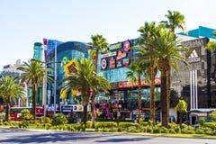 Las Vegas la striscia - allungare 4 2 miglia Fotografia Stock Libera da Diritti