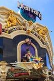 Las Vegas la striscia - allungare 4 2 miglia Immagine Stock