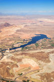 Las Vegas Lake, nevada, Aerial View Stock Photo