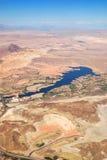 Las Vegas Lake, nevada, Aerial View Stock Photo