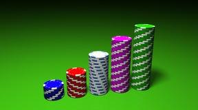 Las Vegas lasca o gráfico Imagens de Stock Royalty Free