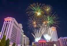 Las Vegas le 4ème juillet Images libres de droits