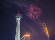 Las Vegas le 4ème juillet Photos libres de droits