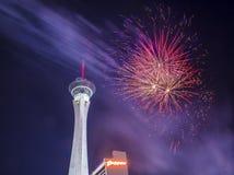 Las Vegas le 4ème juillet Photos stock