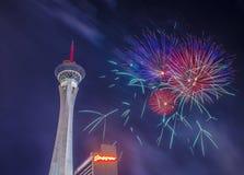 Las Vegas le 4ème juillet Photographie stock libre de droits