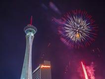 Las Vegas le 4ème juillet Photo stock