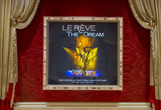 Las Vegas Le Reve Stock Foto