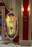 Las Vegas Le Reve. LAS VEGAS - MAY 21 : The Le Reve at the Wynn hotel in Las Vegas on May 21 2016. Le Reve is a stage production It is set in an aquatic stage royalty free stock image