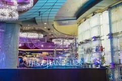Las Vegas, Leuchter-Stange Lizenzfreie Stockbilder