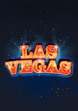 LAS VEGAS LIGHTBULB TEXT Royalty Free Stock Photography