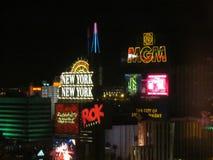 Las Vegas Lights Royalty Free Stock Photos