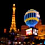 Las Vegas lights. De-focused lights of the Las Vegas Strip at night Royalty Free Stock Image