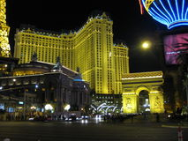 Las Vegas Lights at night Royalty Free Stock Photo