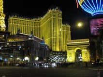 Las Vegas Lights at night Royalty Free Stock Photo