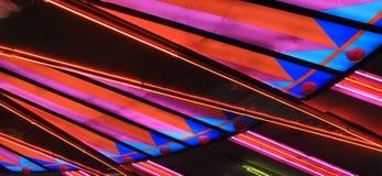 Las Vegas Lights. Lights from Las Vegas nightlife royalty free stock photos