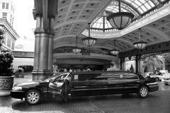 Las Vegas limousine Royaltyfria Foton