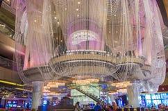 Las Vegas ljuskronastång Royaltyfri Bild
