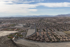 Las Vegas Lone Mountain View Stock Images