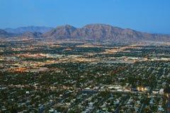 las Vegas lotniczego strzał Fotografia Royalty Free